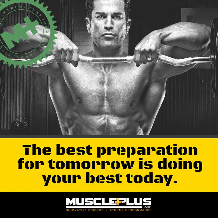 The best preparation for tomorrow is doing your best today. #musclepluslabs #digdeeper #workout #fitness #gymaholic #insanity #cardio #sweat #getfit #gym #flex #motivation #shredded #focus #lifestyle #squat #dedication #grind #grow #trainhard #strength