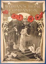 Woman's Home Companion Ladies' Journal Fashion Magazine 08/1901