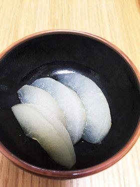 【薬膳・風邪】梨のコンポート