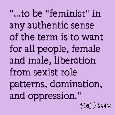 probably posted this before but who cares...it's bell hooks! <3 #bellhooks #feminism #feministquotes
