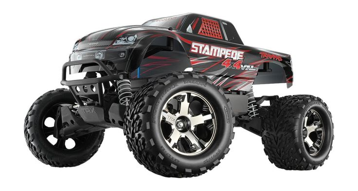 Traxxas Stampede VXL 4X4 Brushless W/TSM, NiMh ID Battery, and Charger