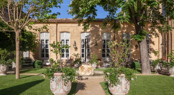 Hotel de caumont jardin haut aix en provence s lloyd - Hotel de caumont aix en provence ...