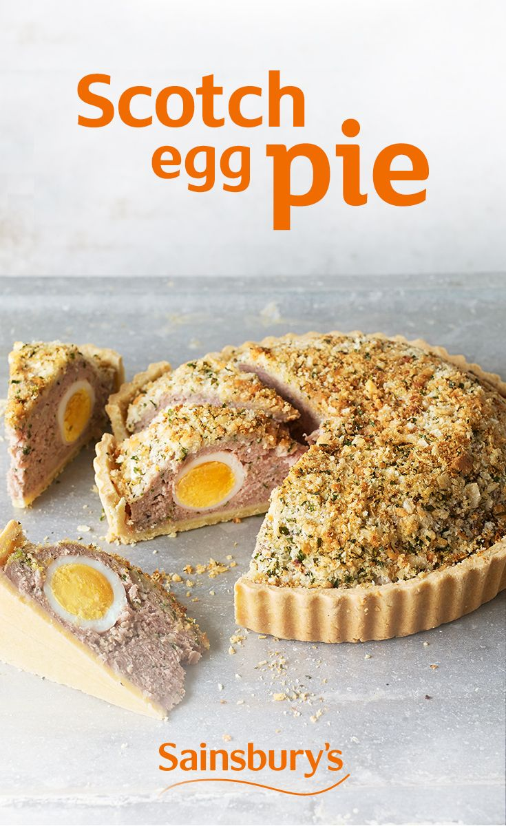 If you love Scotch eggs (and who doesn't?), you're in for a real treat. This picnic friendly recipe is absolute pie-fection.