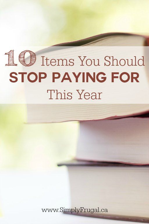 If you're like most people, you're probably trying to save some money this year. Check out these 10 items you should stop paying for. It's always nice to get free stuff from time to time!