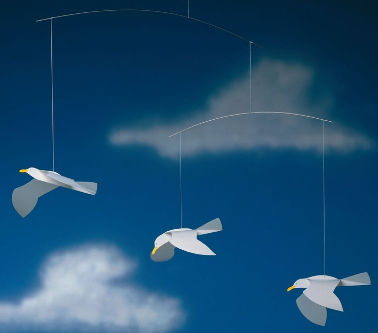 Flensted Soaring Seagulls Mobile Crafts Crafts For Kids