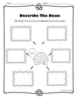 9 best Kindergarten Adjectives images on Pinterest