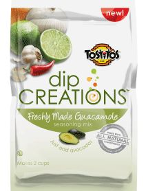 TOSTITOS® DIP CREATIONS® Freshly Made Guacamole Dry Dip Mix
