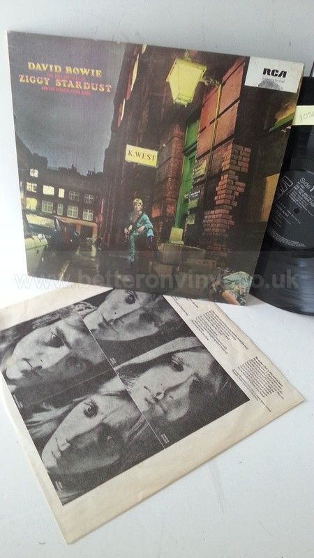 [b]SOLD[/b] DAVID BOWIE the rise and fall of ziggy stardust - ROCK, PSYCH, PROG, POP, SHOE GAZING, BEAT