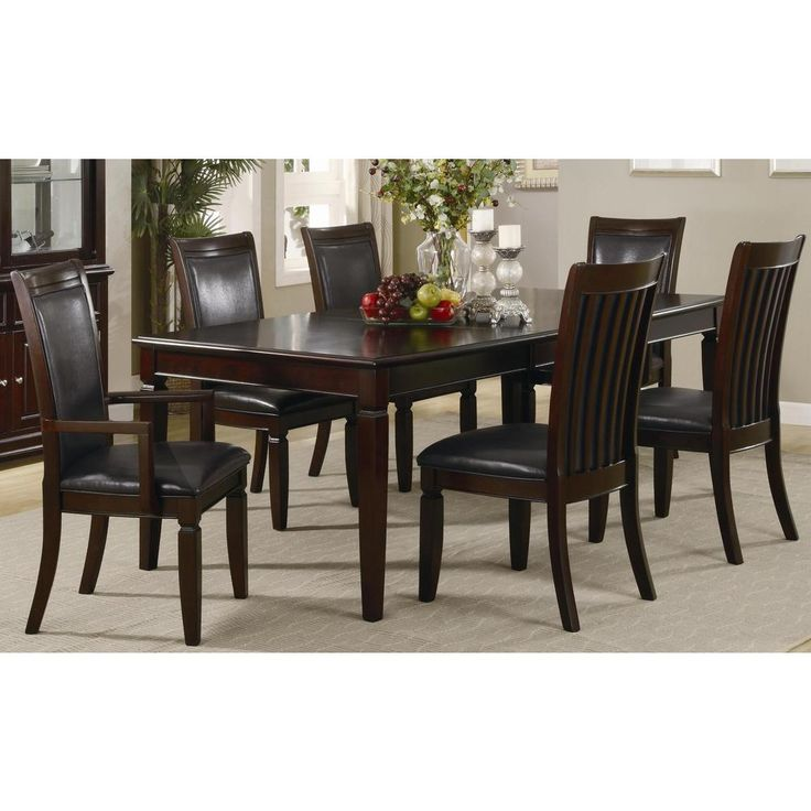 Coaster Ramona Formal Rectangular Dining Table In Walnut Accomplish