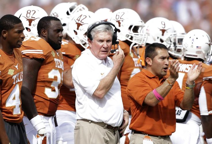 Texas seniors get over OU win for Mack, 36-20 DALLAS (AP) — Case McCoy threw two touchdowns, defensive tackle Chris Whaley returned an interception 31 yards for a score and Texas beat 12th-ranked Oklahoma 36-20 Saturday.