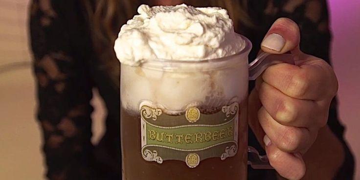 Best Butterbeer Recipe - How to Make Butterbeer