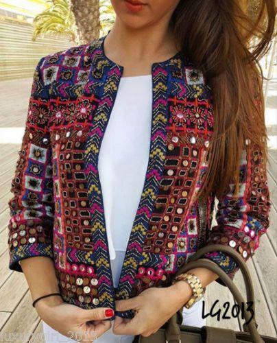 0c09c75af15 Zara-Rare-Embroidered-Ethnic-Beaded-Embellished-Hand-Made-Boho-Jacket-Small