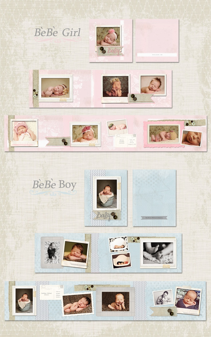 Crave Design mini acc album for babies bebe_storyboard