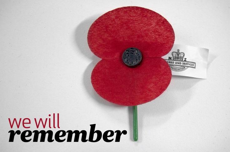 We will remember.... #poppyday