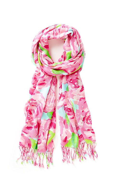 Printed Lilly Scarf - First Impression - Lilly Pulitzer--- I want this SOOOO bad