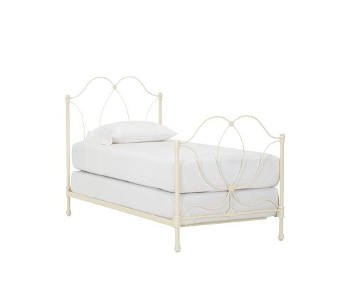 Pbk Iron Scroll Twin Beds Iron Bed Bed Girls Twin Bed