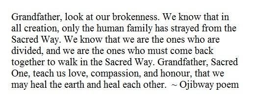 Ojibway poem