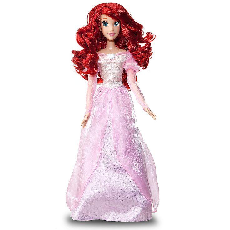 Disney Princess Cinderella Singing Doll And Costume Set: Singing Ariel Doll -- 17'' H