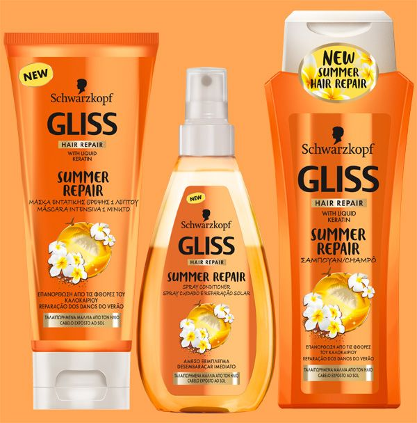 Brilhos da Moda: Gliss Summer Repair