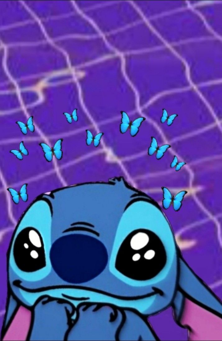 A Stitch Wallpaper For All The Stitch Fans Cute Patterns Wallpaper Wallpaper Iphone Cute Stitch Disney