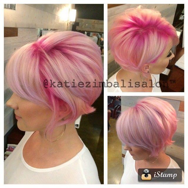 Grune haare pink farben  Moderne mnnliche und weibliche ...