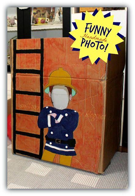 Funny Photo x festa a tema il pompiere Sam! | Sulla scrivania di Melangy
