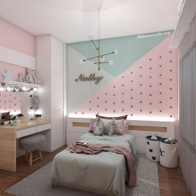 155 Cute And Girly Bedroom Decorating Tips For Girl 14 3 Tween