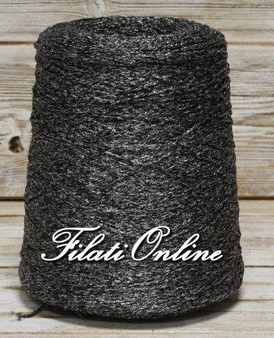 COCL206 Filato catenella di viscosa nera e lurex argento 3€/hg - http://www.filationline.it/cocl206-filato-catenella-di-viscosa-nera-e-lurex-argento-3ehg/  . 40% viscosa 40% acrilico 20% lurex Spessore 2mm Filato catenella fresco, morbido e brillante 965gr 28,95€ oppure lotto composto da 3 rocche dal peso totale netto di 480gr 14,40€  Salva  Salva  Salva  Salva  Salva  Salva  Salva  Salva  Salva