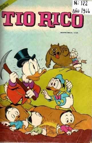 Revista Tio Rico Año 1966 - N° 122 Walt Disney