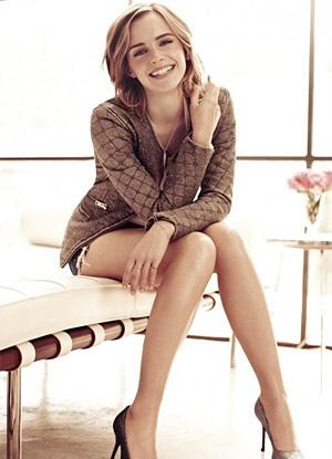Emma Watson Covers Marie Claire UK February 2013 - 44FashionStreet.com