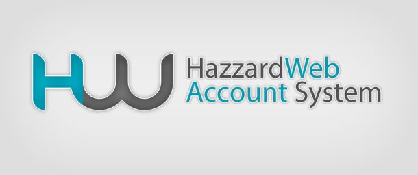 HazzardWeb Account System | HazzardWeb