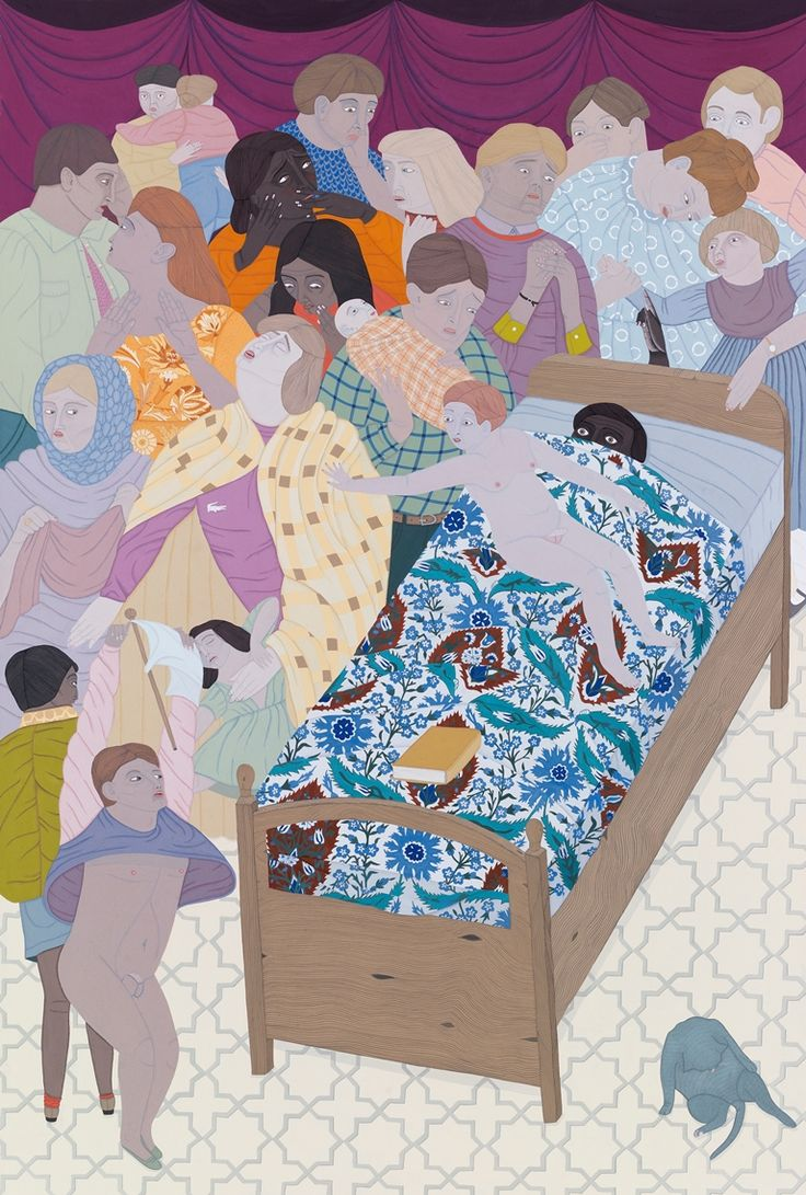 <h3 class='artwork-heading'>Kushana Bush</h3><p class='artwork-info'>Exorcism<br>2014<br>gouache on paper<br>56.5 x 38 cm</p>