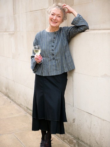 This company actually makes clothes for older women (I am 63) that are stylish, feminine, dignified, and fun! Yay! I cannot afford them, but they can influence my thrift store finding etc.