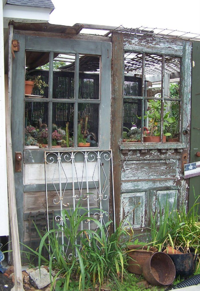 the whole website is greenhouses from recycled doors and windows ....lots of & Top 25+ best Recycled door ideas on Pinterest | Old door projects ... Pezcame.Com