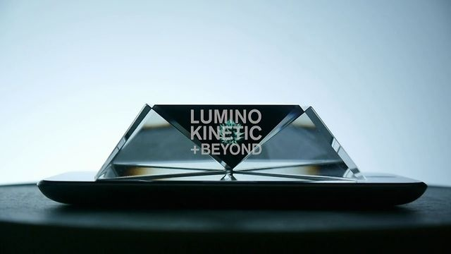 Lumino Kinetic + Beyond by Yuri Endo. A media project explores the properties of light and perception of space, for the purpose of digital media art and product design, presented at IDAS (Hongik University) as my thesis project.