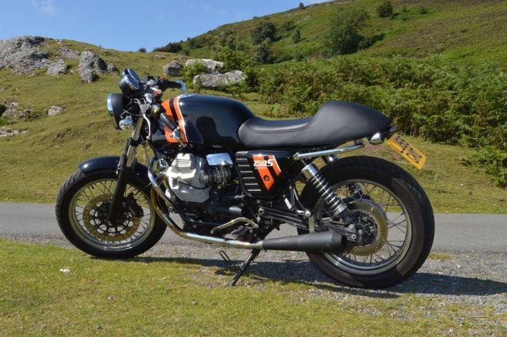 eBay: MOTO GUZZI V7 CAFE CLASSIC 750cc 59 Plate 2009 #motorcycles #biker