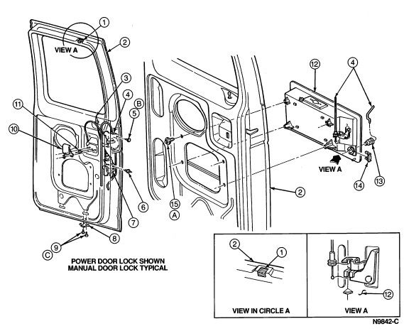 627979b5339868b02546aa210e9500bc line drawings ford 81 best images about ford econoline dmc 1992 on pinterest repair,2006 Ford E150 Fuse Box