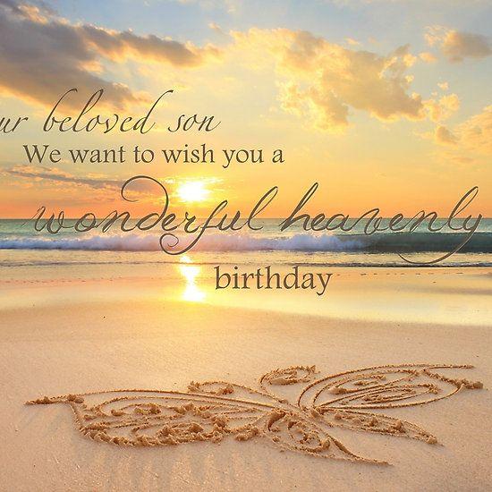 Son S Heavenly Birthday Caden My Sleeping Angel Birthday In