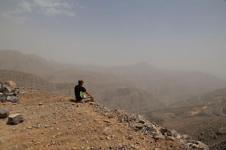 #uae #rak #jebelaljais #mountains #climbing