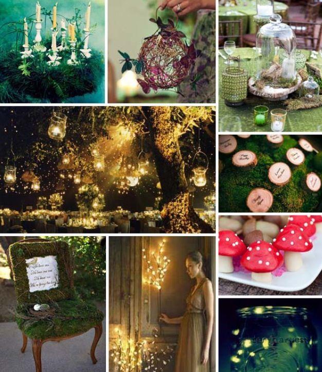 Enchanted Forest Wedding Ideas