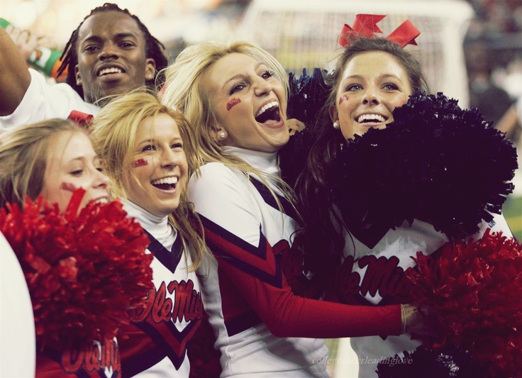 Ole Miss! Cheer excitement miss it all ready