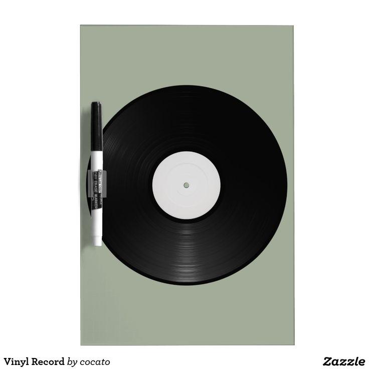 Vinyl Record ドライイレースボード