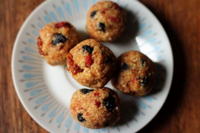 Berrylicious bliss balls