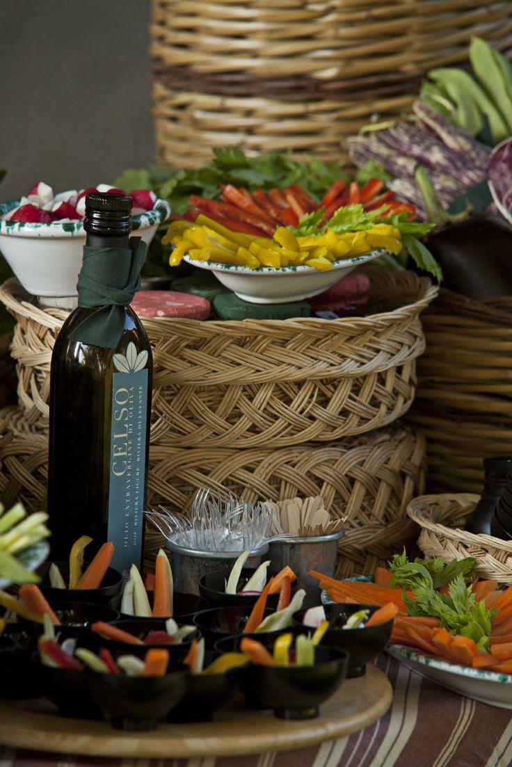 Degustazione di olio extravergine di oliva all' aperitivo