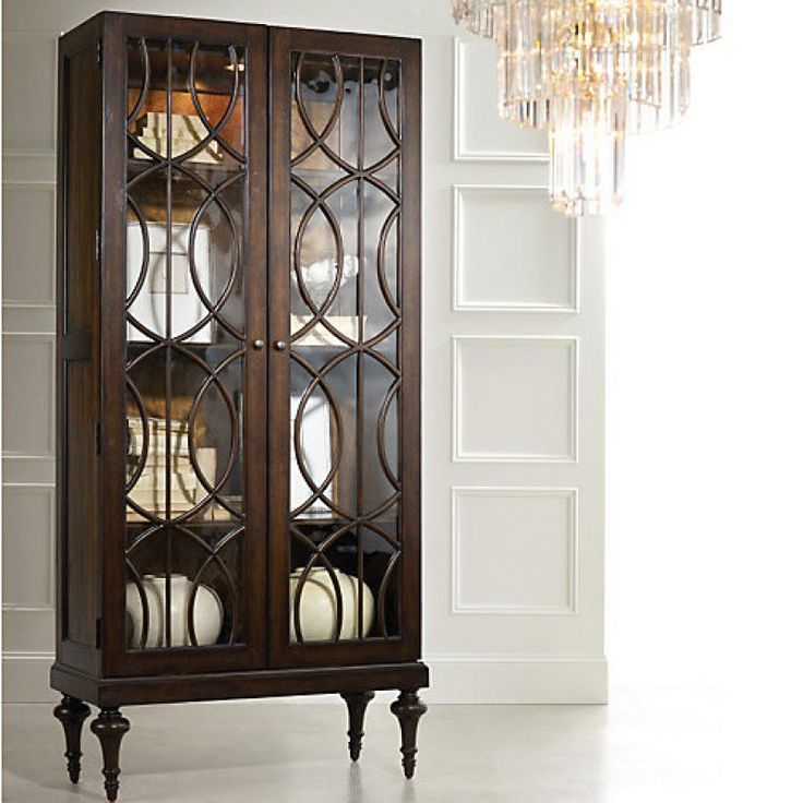 Hooker Furniture Melange Adaira Display Cabinet HO-638-50083