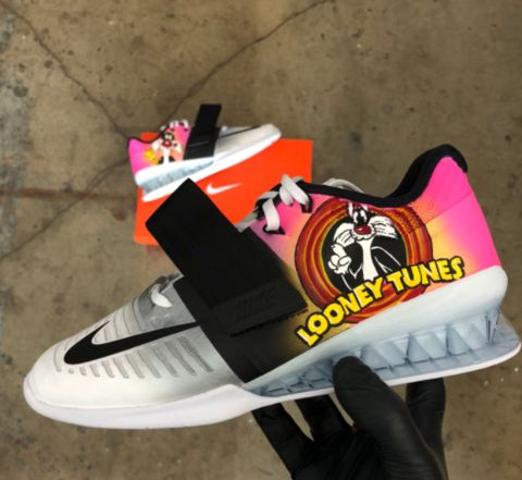 770474bf302 Looney Tune Themed Nike Romaleos 3