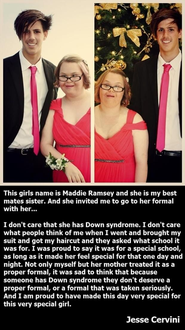 Faith In Humanity Restored – 30 Pics; This is perhaps one of the sweetest things I read; I literally cried (in joy) when I read this:)