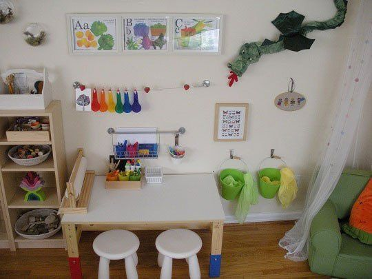 A Calming Space for my Little Sprouts — Small Kids, Big Color Entry #39 | Apartment Therapy