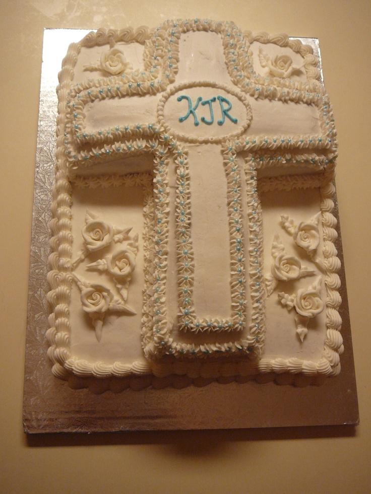 Boy's First Communion Cake