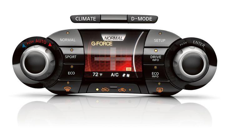 2017 Nissan Juke interior temperature controls